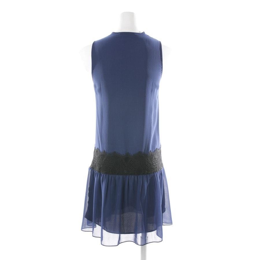 Kleid von Sandro in Blau und Schwarz Gr. 34 / 1