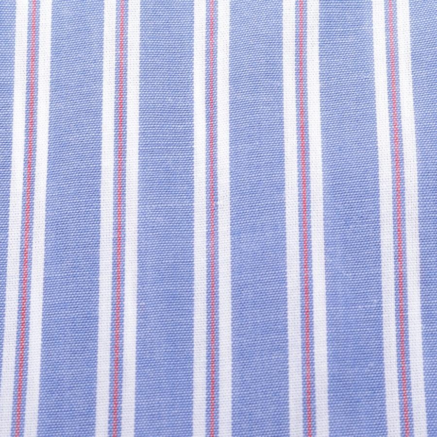 Hemdkleid von Alexa Chung in Blau und Rot Gr. 36 UK 10