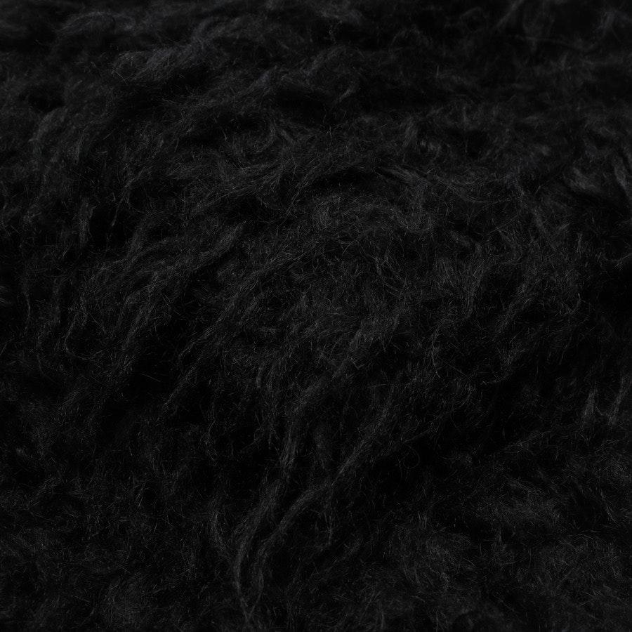 Wintermantel von Saint Laurent in Schwarz Gr. 32 FR 34