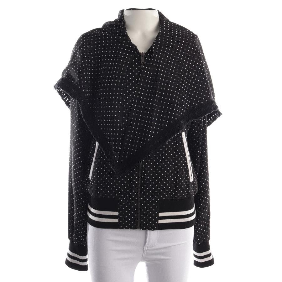 Sommerjacke von Dolce & Gabbana in Schwarz und Weiß Gr. 34 IT 40