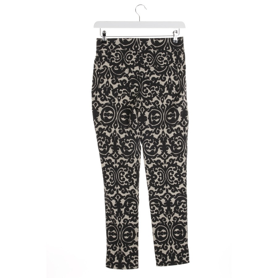trousers from Joseph Ribkoff in black and beige size 34