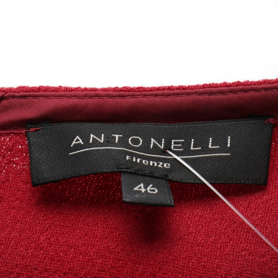 Wollkleid von Antonelli in Rot Gr. 40 IT 46