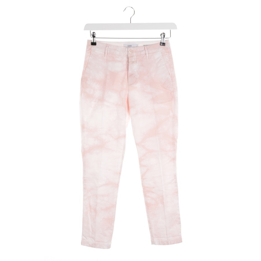 trousers from Closed in pink and white size W24 - jack