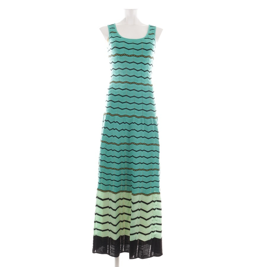 Maxikleid von Missoni M in Grün und Multicolor Gr. 34 IT 40
