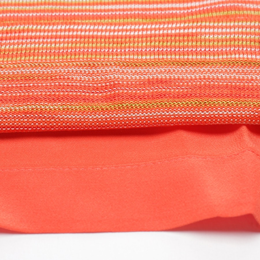 Kleid von Missoni M in Orange und Multicolor Gr. S