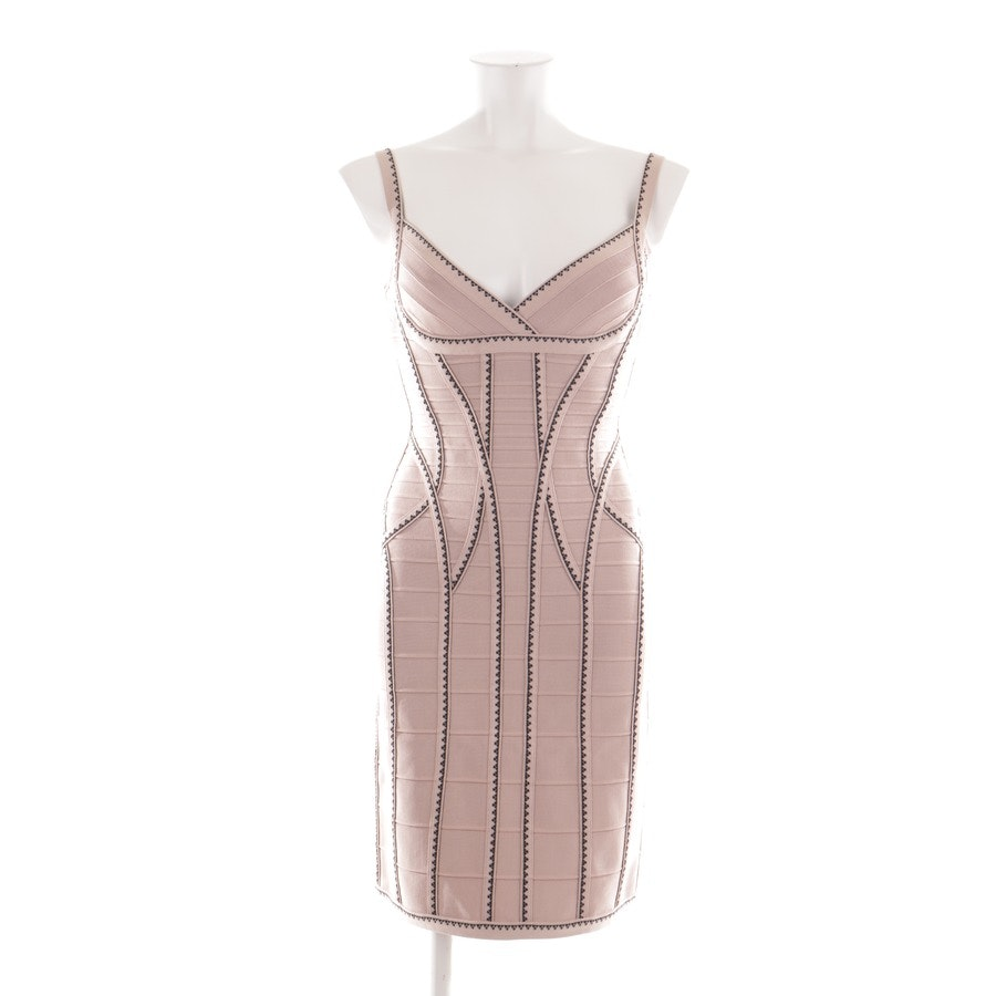 dress from Max Azria Hervé Léger in old pink and black size M