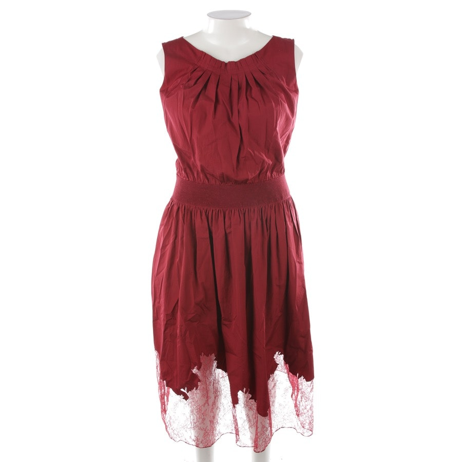 Kleid von Nina Ricci in Bordeaux Gr. 38 FR 40