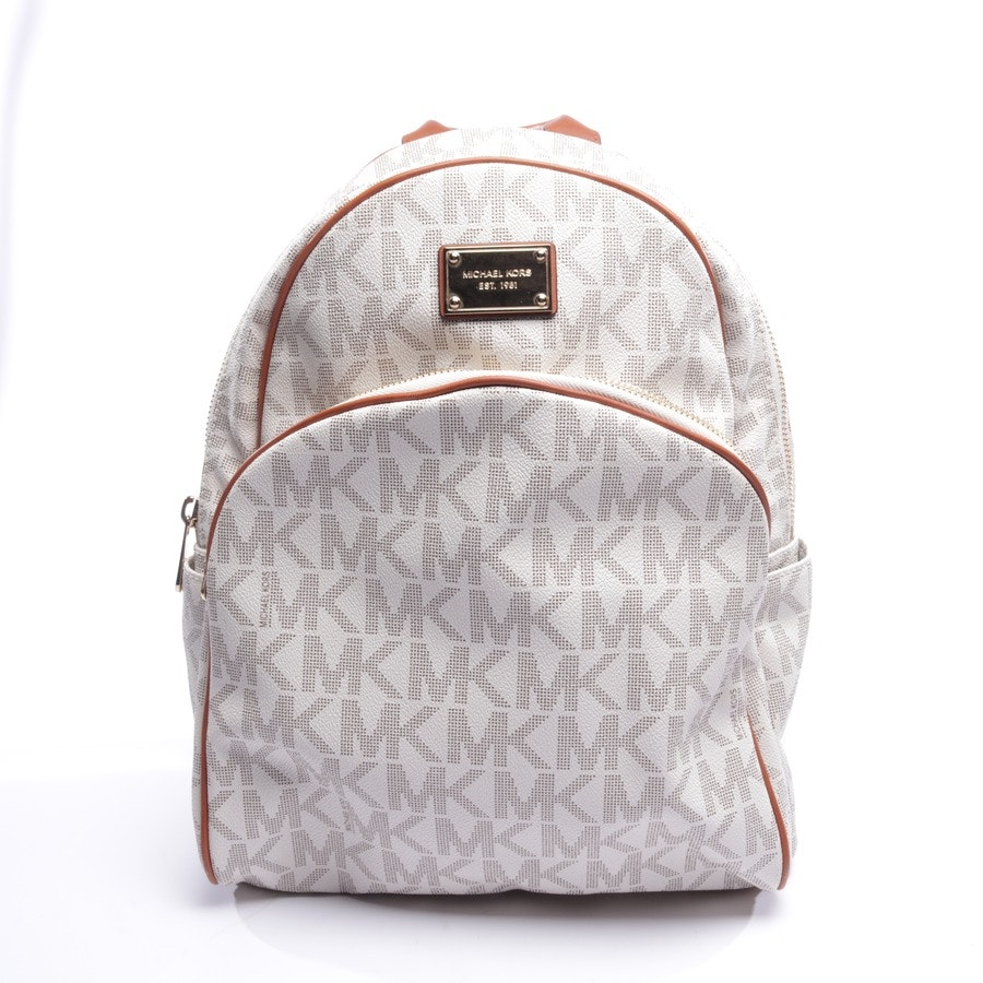 backpack from Michael Kors in sand and brown