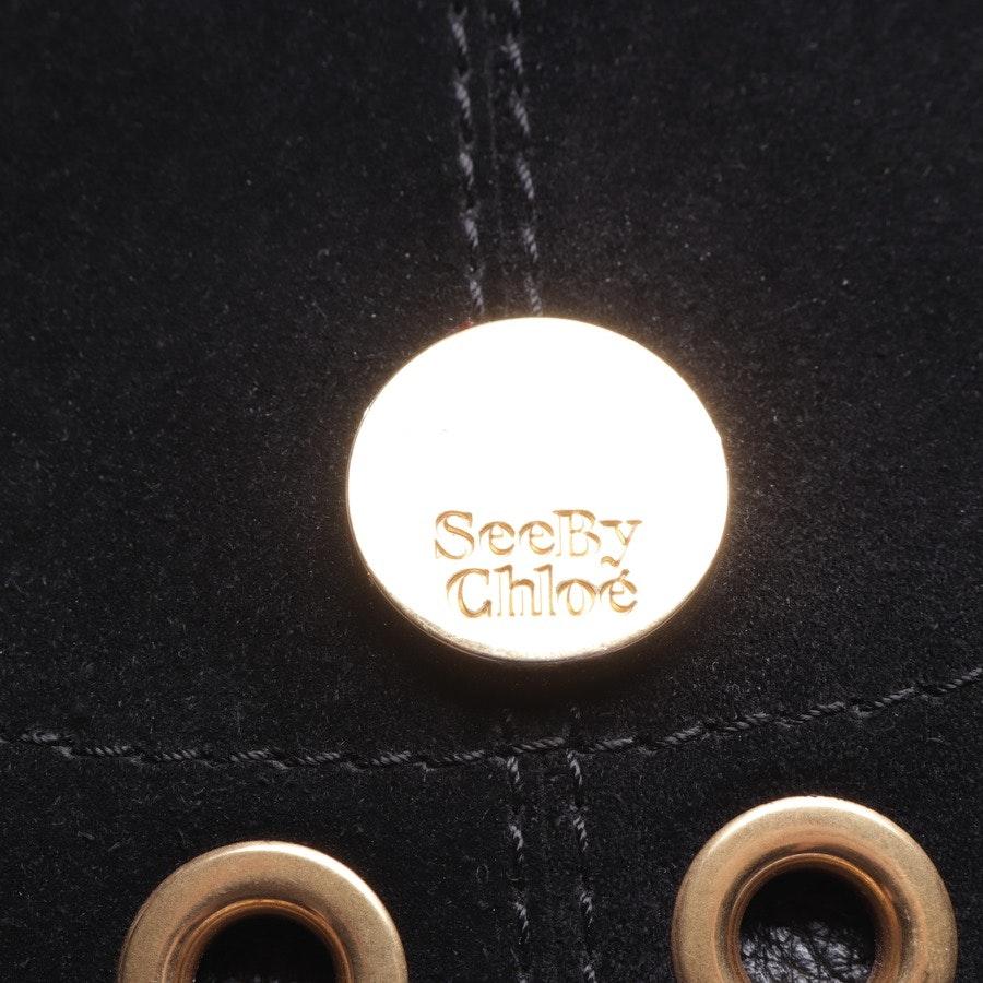 Crossbody Bag von See by Chloé in Schwarz