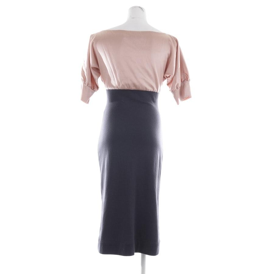 Kleid von Diane von Furstenberg in Dunkelgrau und Rosa Gr. 36 US 6