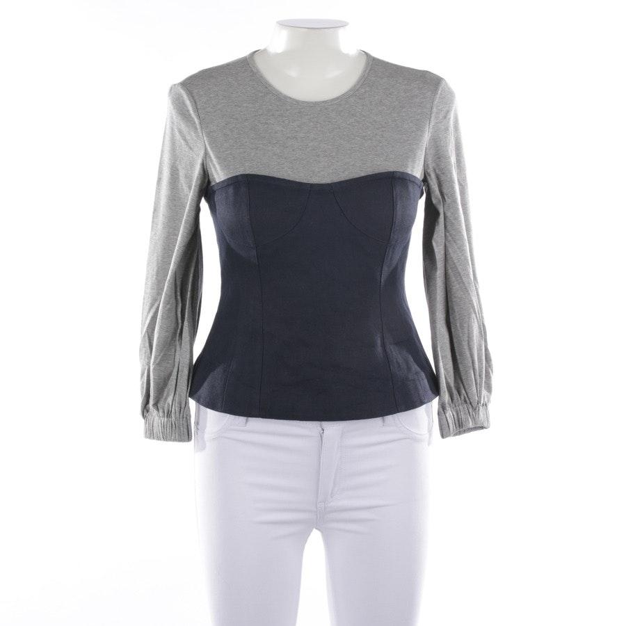 Sweatshirt von Tibi in Grau und Blau Gr. 36 US 6