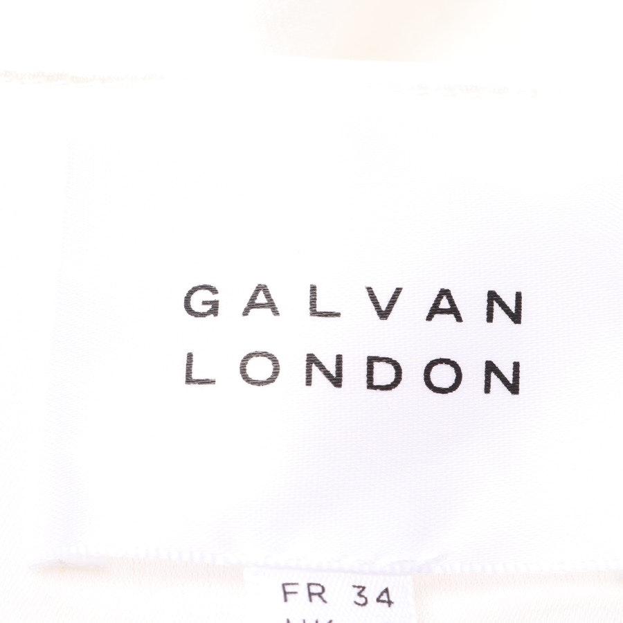 Rock von Galvan London in Weiß Gr. 32 UK 6 - Neu