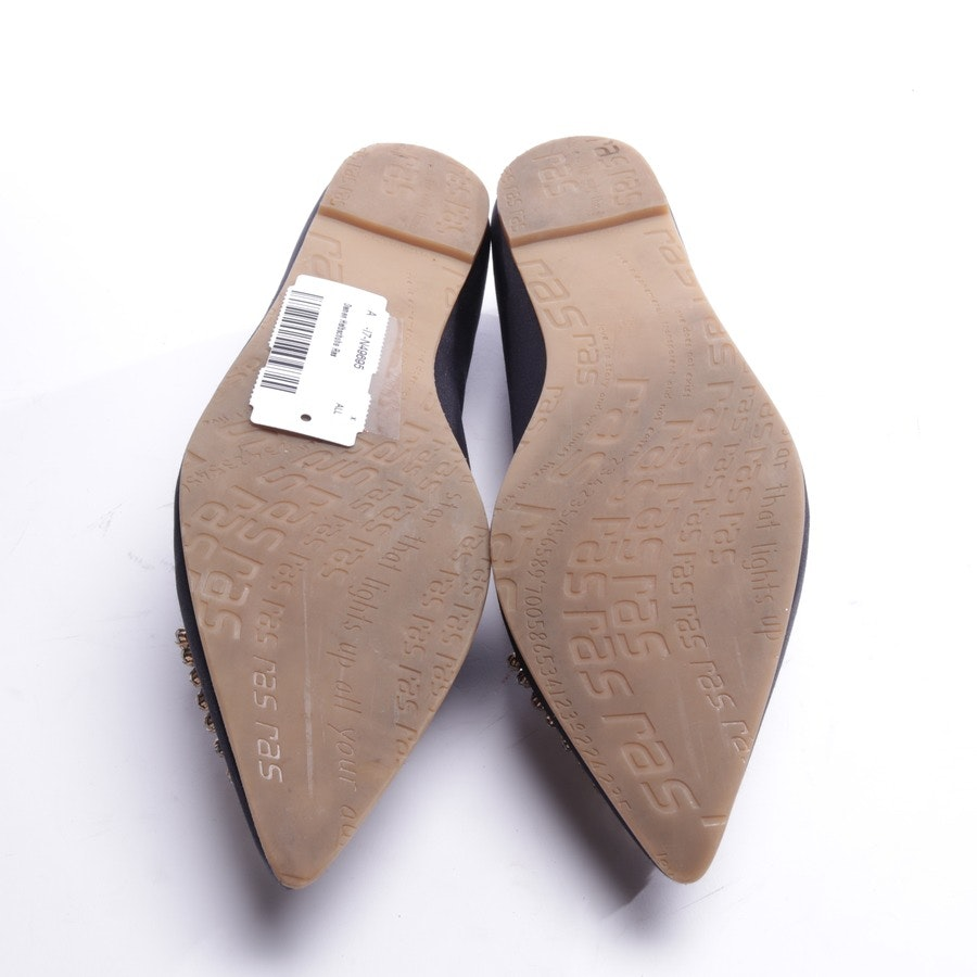 loafers from Ras in dark blue size EUR 39