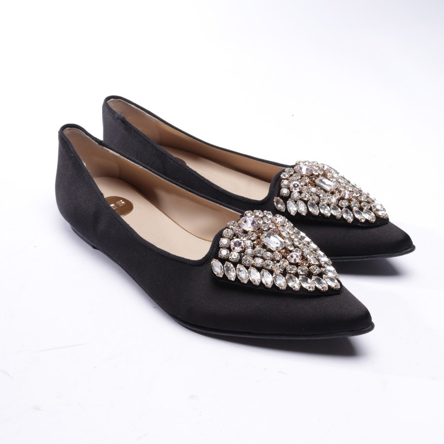 loafers from Ras in black size EUR 39