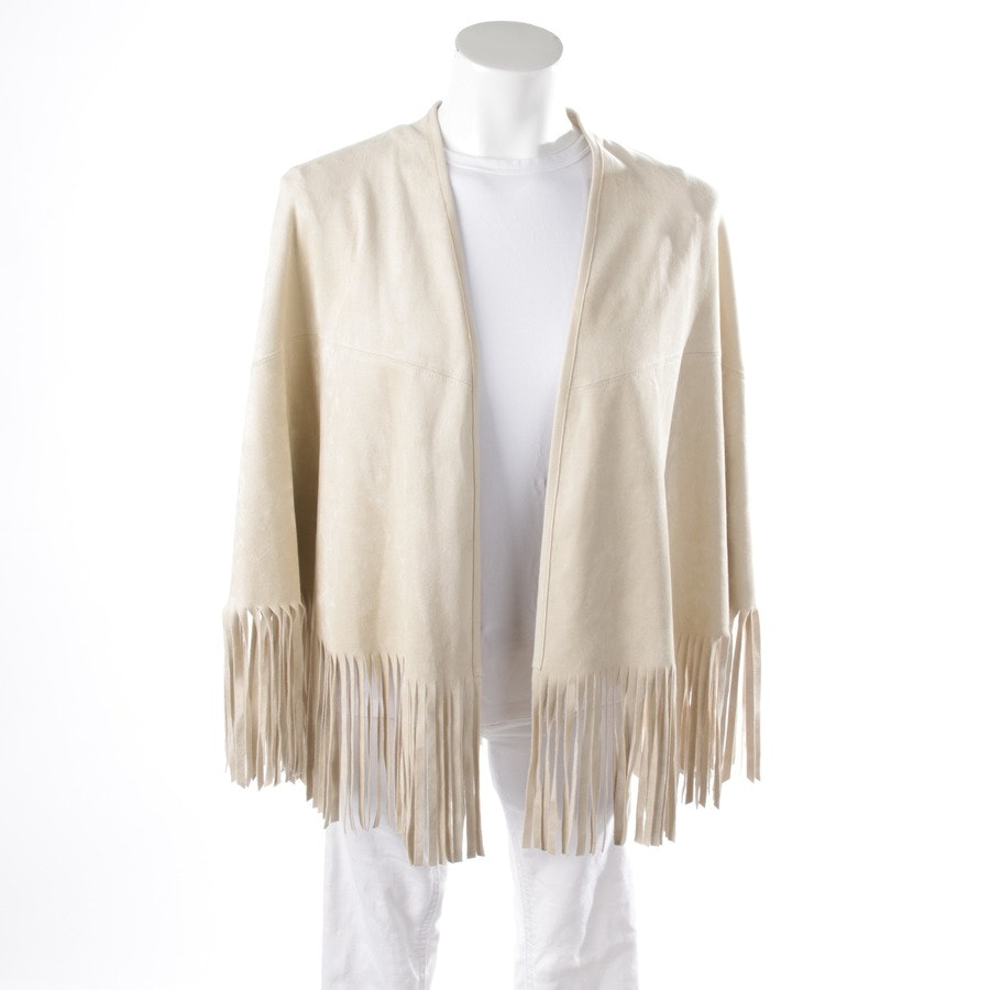 between-seasons jackets from Marc Cain in champagne size 38 N3
