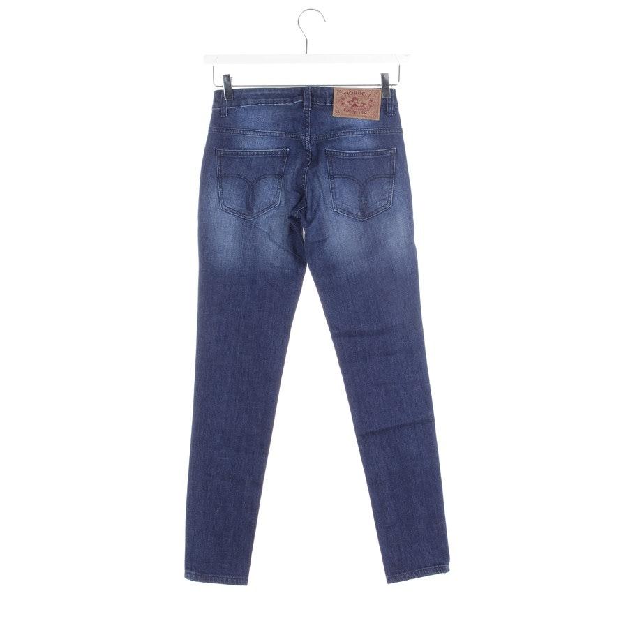 Jeans von Fiorucci in Mittelblau Gr. W25 - Neu