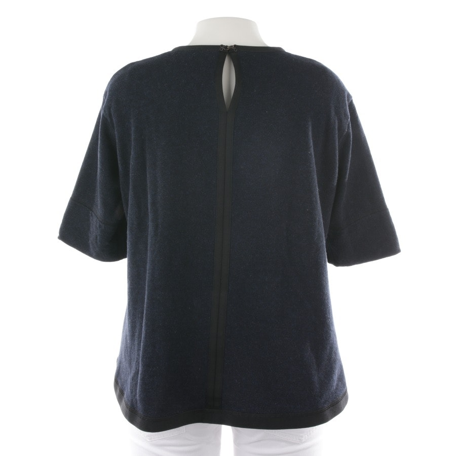 Sweatshirt von Odeeh in Blau und Schwarz Gr. 40