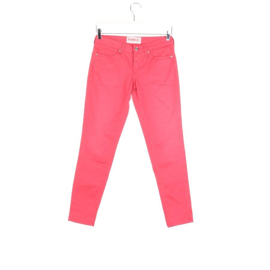 Jeans von Fiorucci in Rot Gr. W26 - Neu !