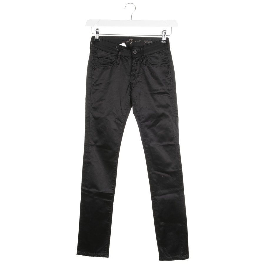 trousers from 7 for all mankind in black size W24 - yuki
