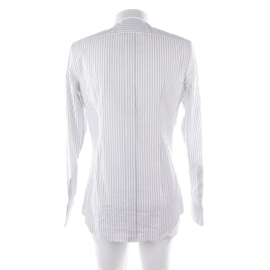 Hemd von Dolce & Gabbana Gold in Weiß und Mehrfarbig Gr. 39-40