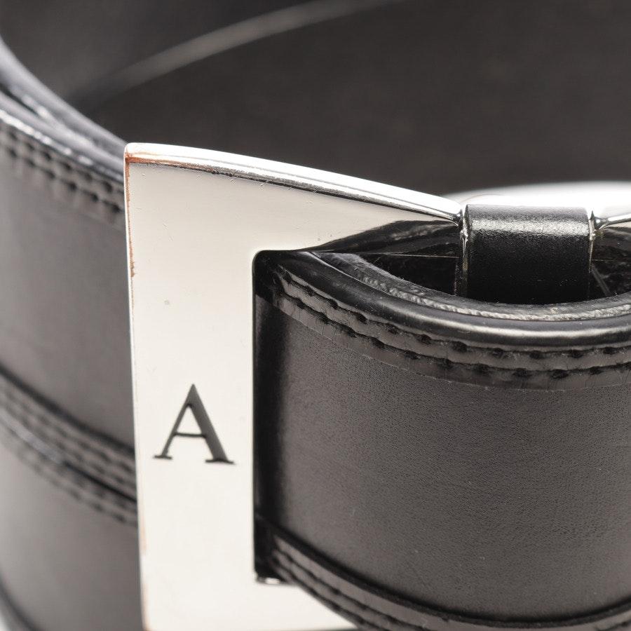 Gürtel von Armani Jeans in Schwarz Gr. 85 cm