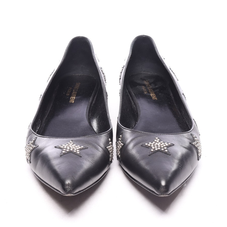 loafers from Saint Laurent in black size EUR 39