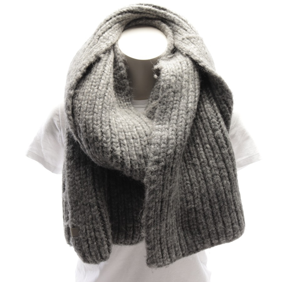 scarf from Marc O'Polo in grey mottled