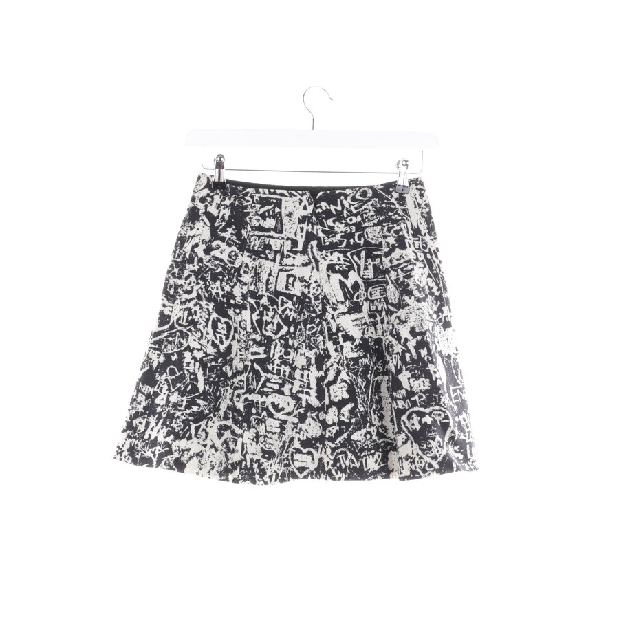 skirt from Carven in black and beige size 34 FR 36
