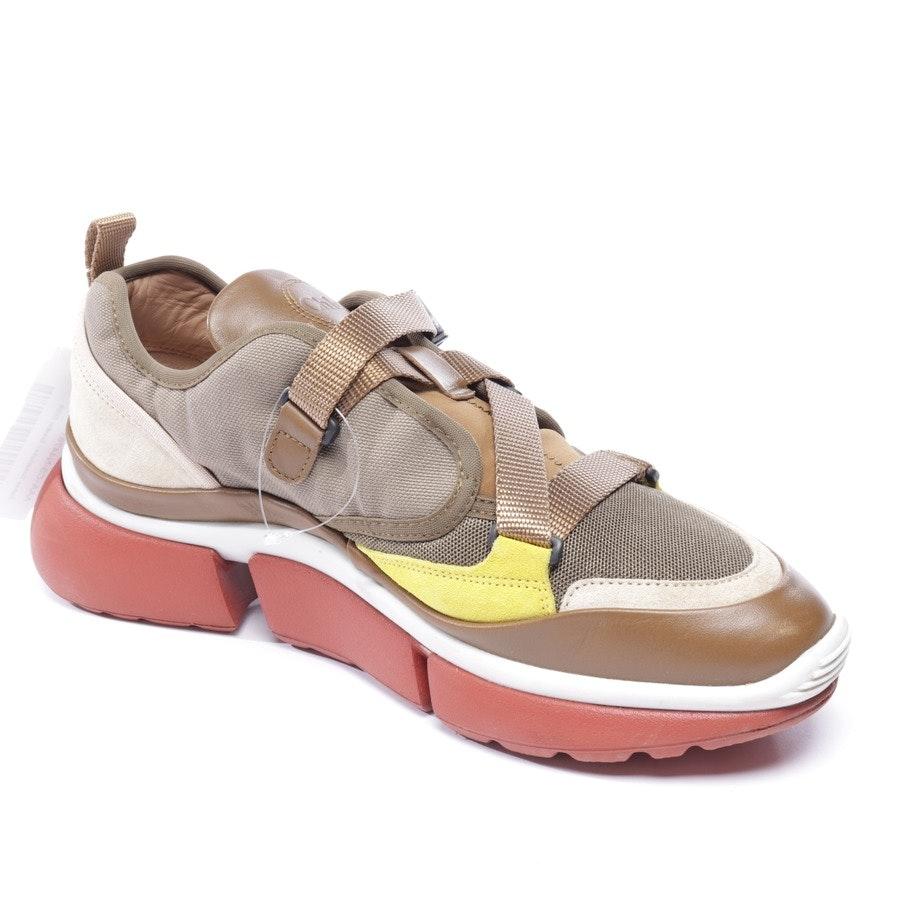 Sneaker von Chloé in Braun und Gelb Gr. EUR 41 - Sonnie