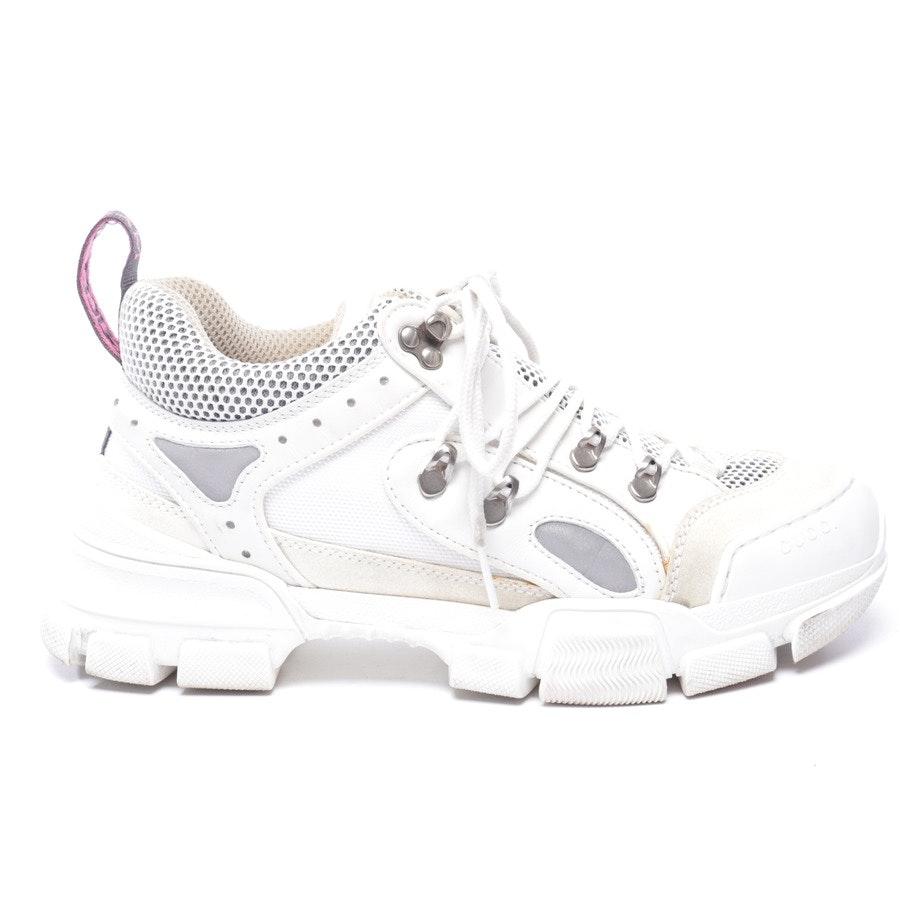 Sneaker von Gucci in Cremeweiß Gr. EUR 39,5 UK 7 - Flashtrek