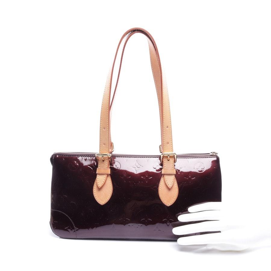 Handtasche von Louis Vuitton in Amarante - Monogram VernisRosewood Avenue