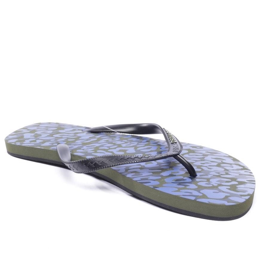 Sandalen von Dsquared in Schwarz und Lila Gr. EUR 45 - Neu