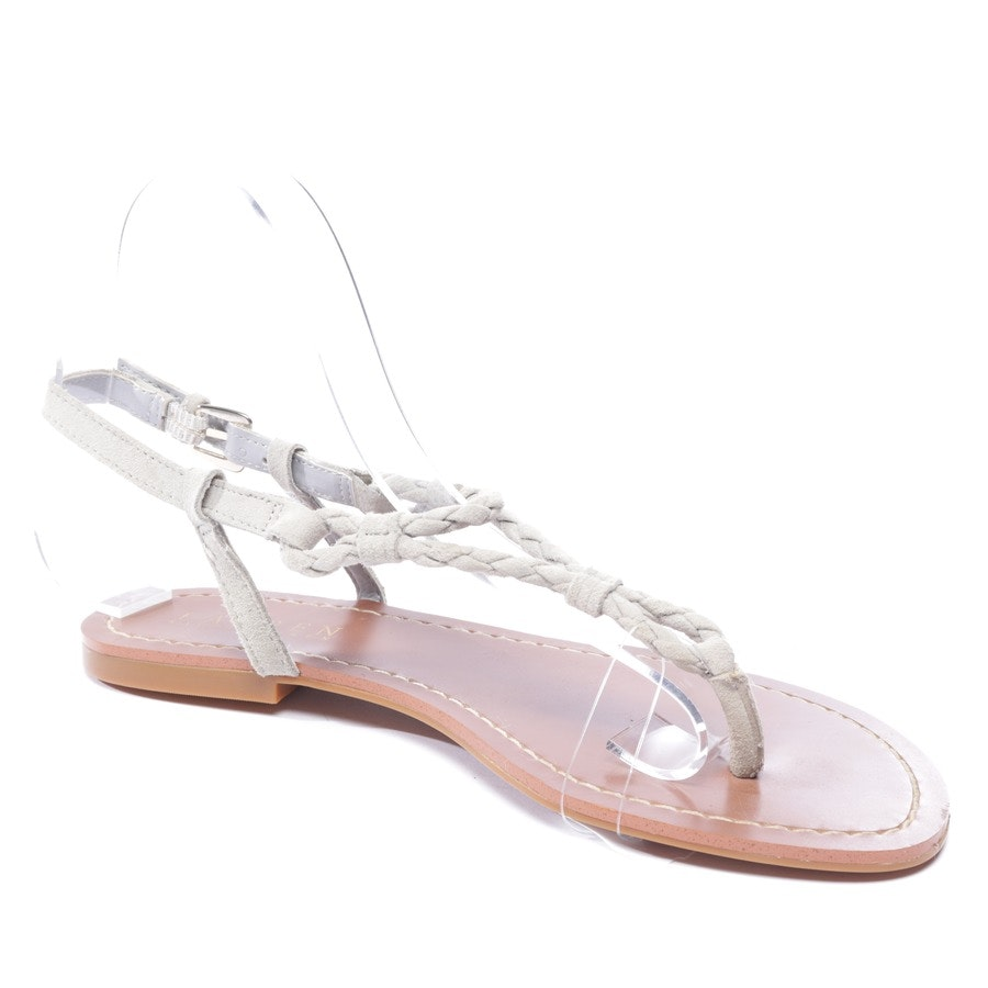 flat sandals from Lauren Ralph Lauren in grey size EUR 37 US 6,5