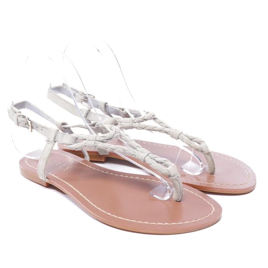 Sandalen von Lauren Ralph Lauren in Grau Gr. EUR 37 US 6,5