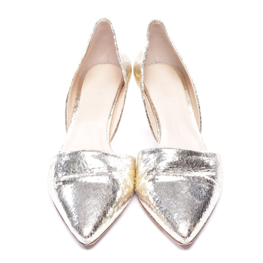 pumps from Kennel & Schmenger in gold size EUR 35,5 UK 3