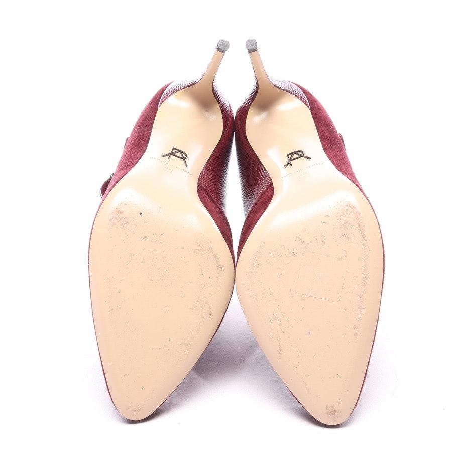 Ankle Pumps von Paul Andrew in Weinrot Gr. EUR 39 - Monaco