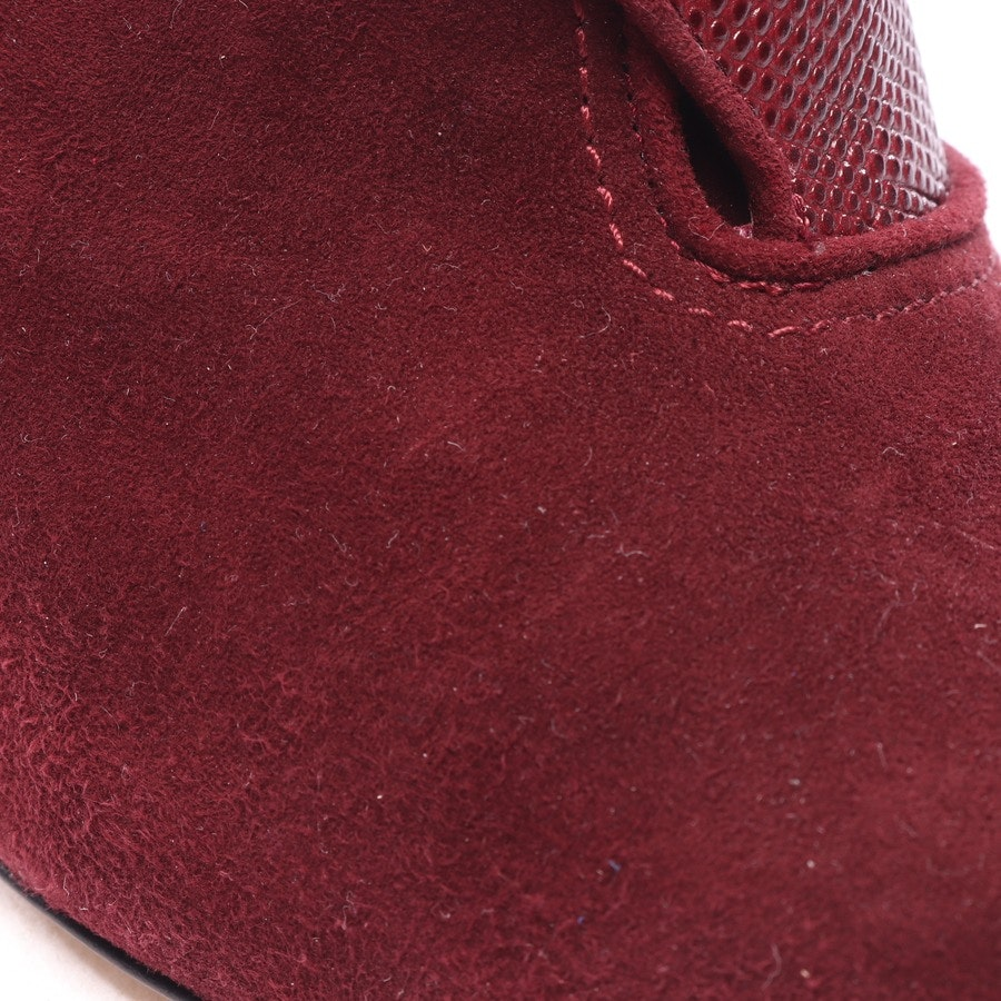 pumps from Paul Andrew in burgundy size EUR 39 - monaco