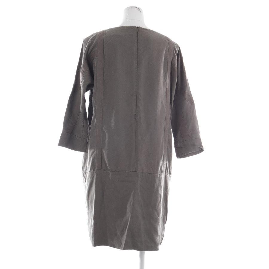 Kleid von Tigha in Olivgrün Gr. 40
