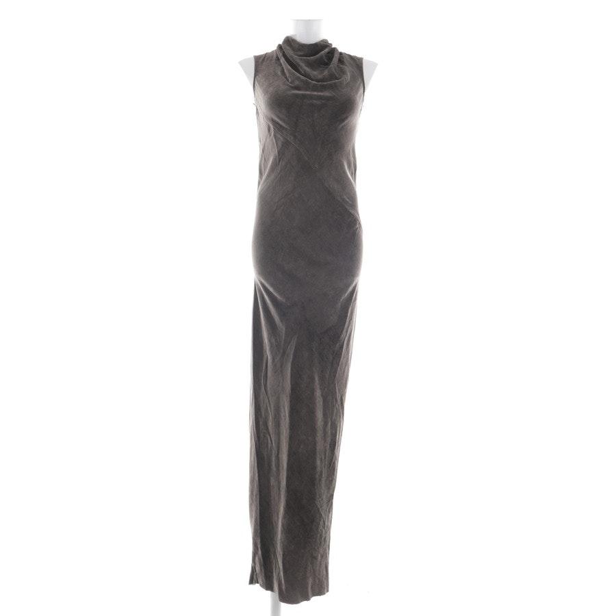 Kleid von Rick Owens in Graugrün Gr. 34