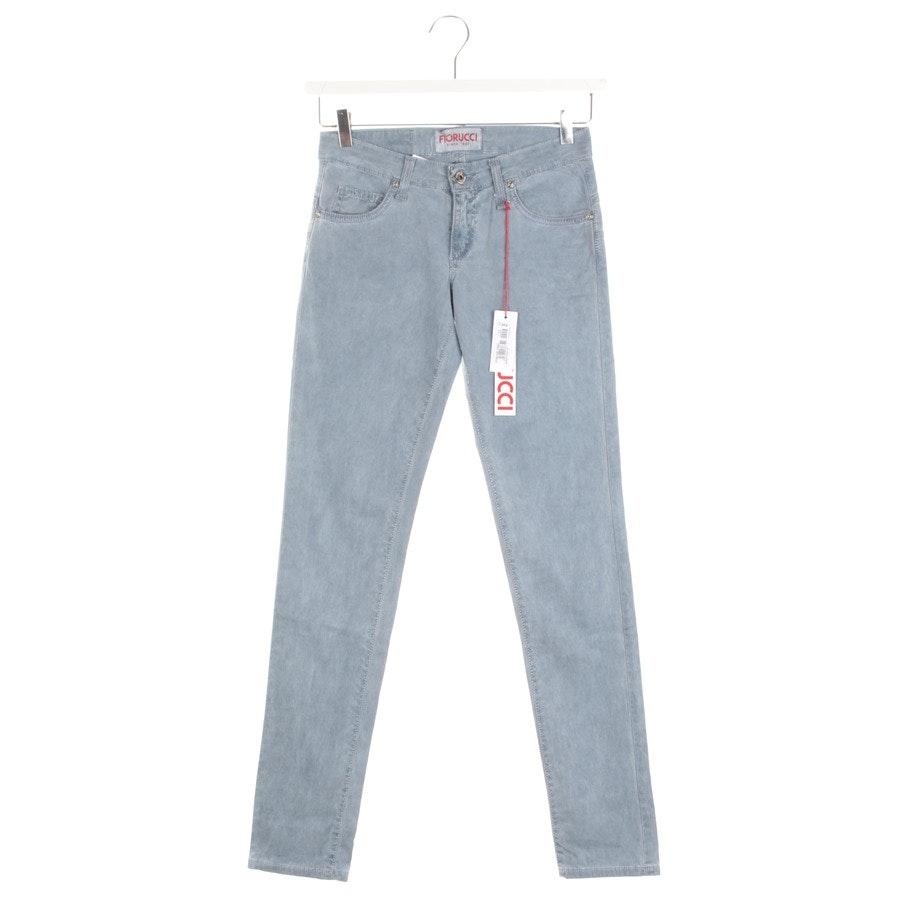 Jeans von Fiorucci in Cyanblau Gr. W27 - Neu