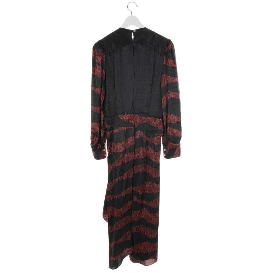 Kleid von Isabel Marant in Schwarz und Rot Gr. 34 FR 36 - Neu