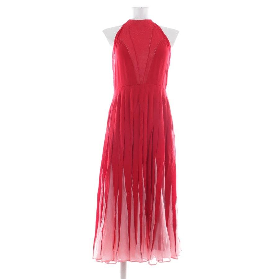 Seidenkleid von Valentino in Rot und Rosa Gr. 40 IT 46