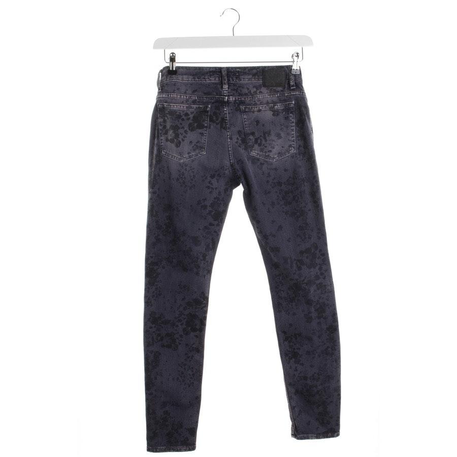 Jeans von Drykorn in Lila und Grau Gr. W28