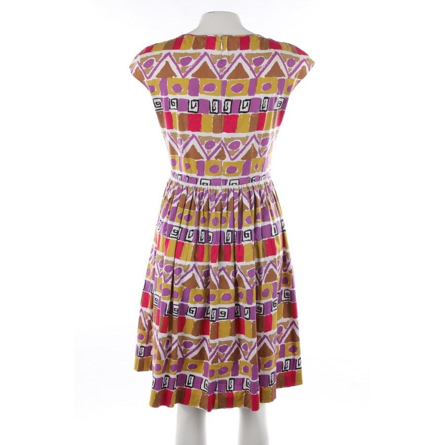 Kleid von Prada in Lila und Braun Gr. 38 IT 44