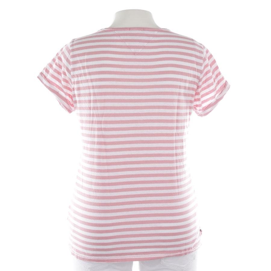 Shirt von Tommy Hilfiger Denim in Rosa und Weiß Gr. L