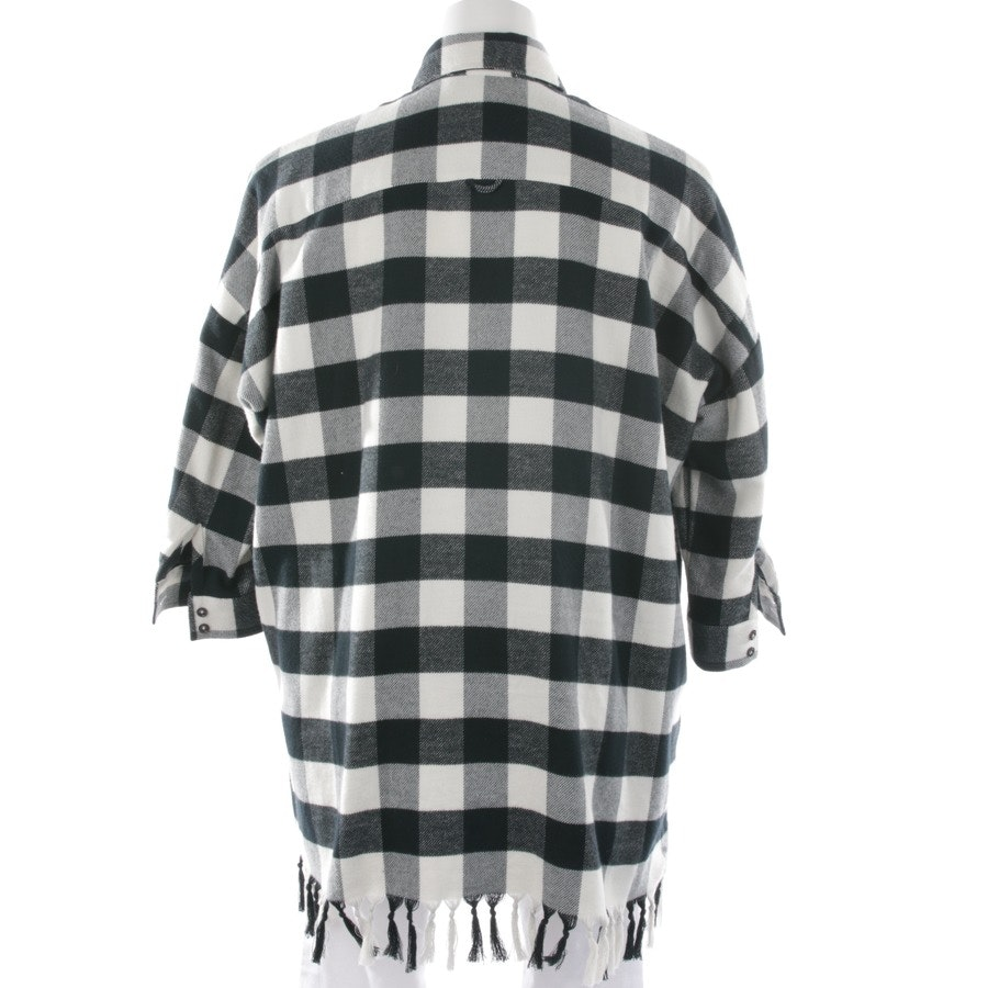 blouses & tunics from Aglini in wool white and black size 38 IT 44