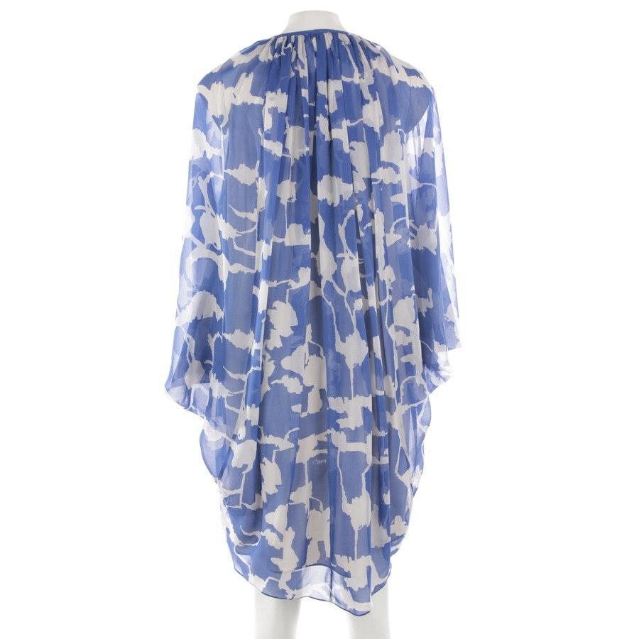 dress from Diane von Furstenberg in cobalt and nature size 34 US 4