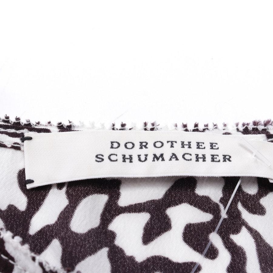 Top von Dorothee Schumacher in Weiß und Braun Gr. 38 / 3