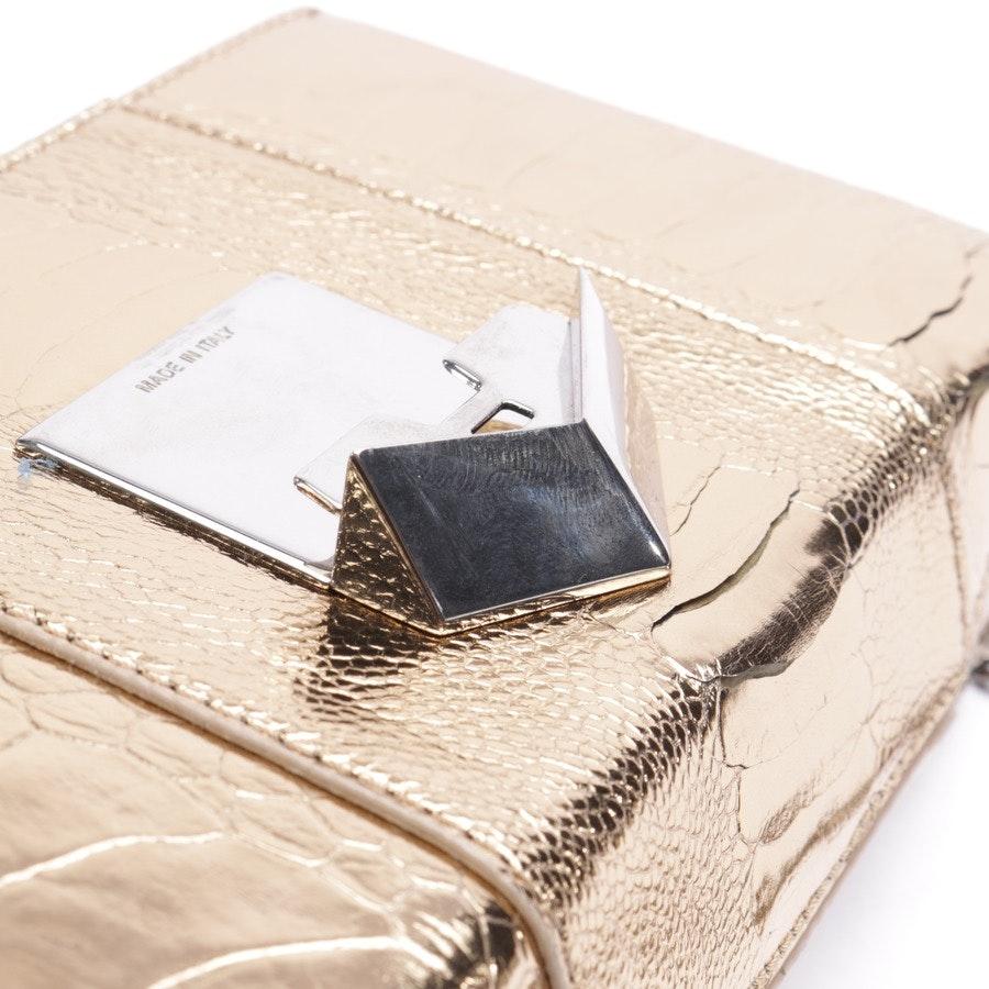 shoulder bag from Jimmy Choo in gold
