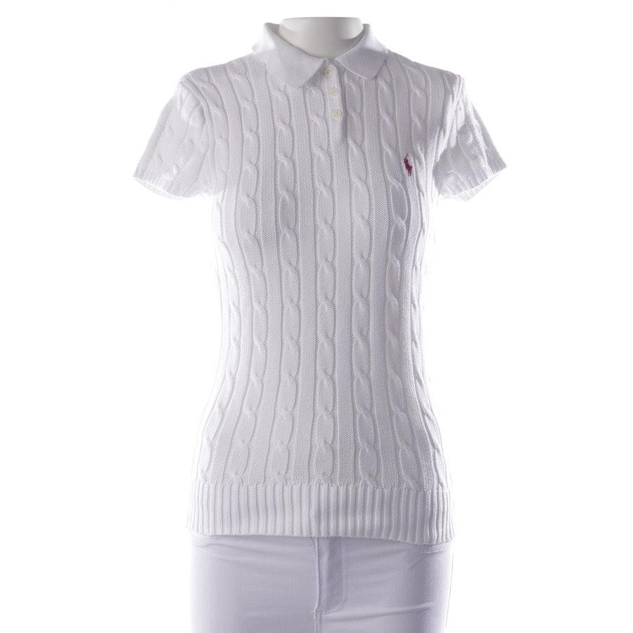 Poloshirt von Polo Ralph Lauren in Weiß Gr. S